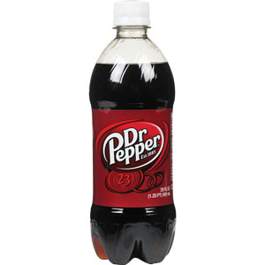 Bottle Dr.Pepper