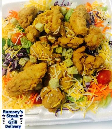 Chicken Strip Salad