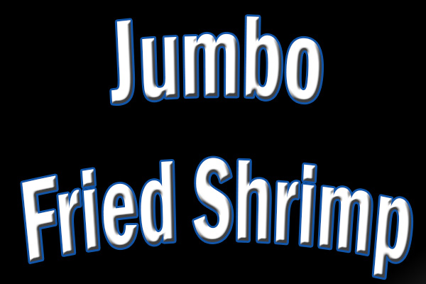 1 Jumbo Fried Shrimp