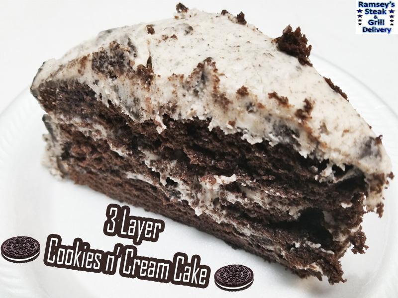 3 Layer Cookies n' Cream Cake!