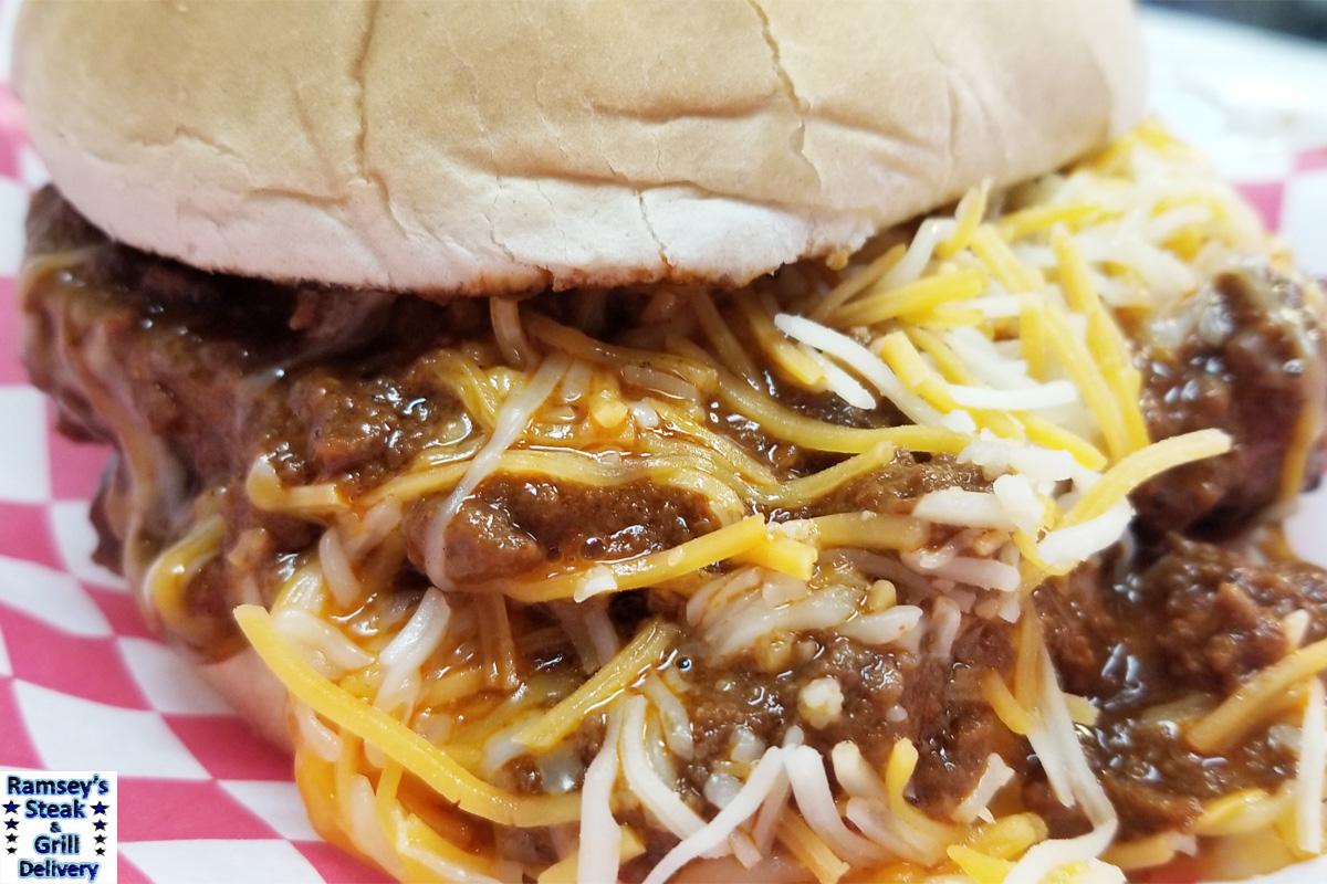 Chili Cheese Burger!