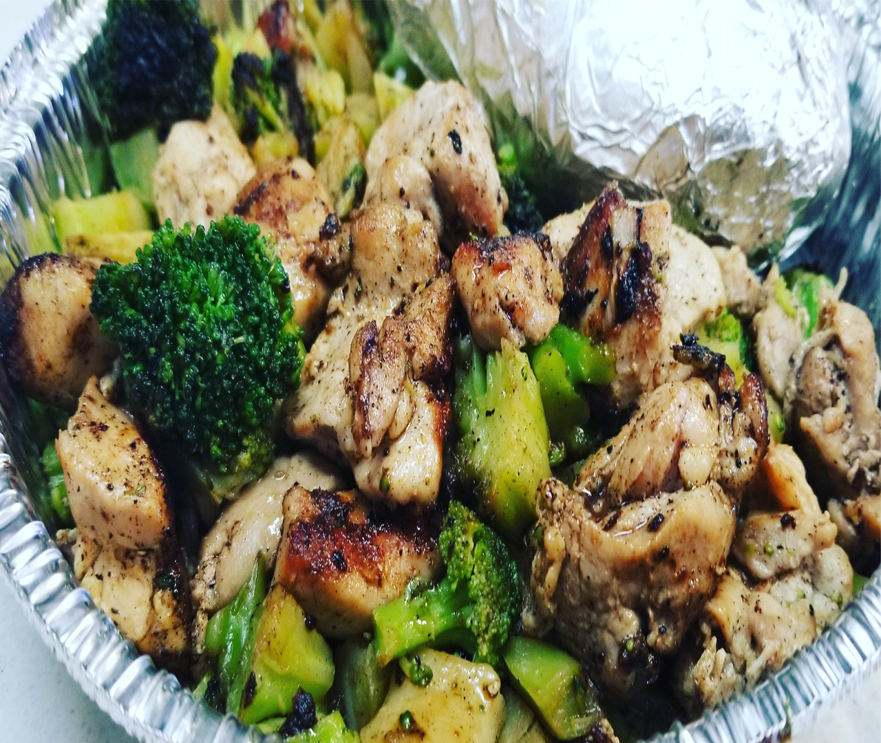 Broccoli & Chicken Dinner