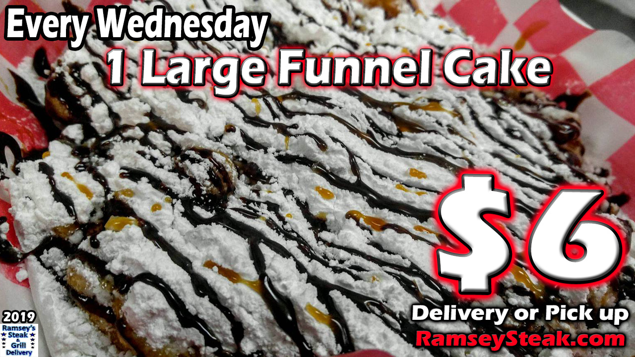 Large Funnel Cake